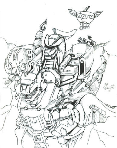 Dragonzord power rangers coloring pages sketch coloring page for Power rangers megazord coloring pages