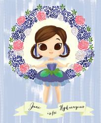 June is for Hydrangeas by Ikupoo