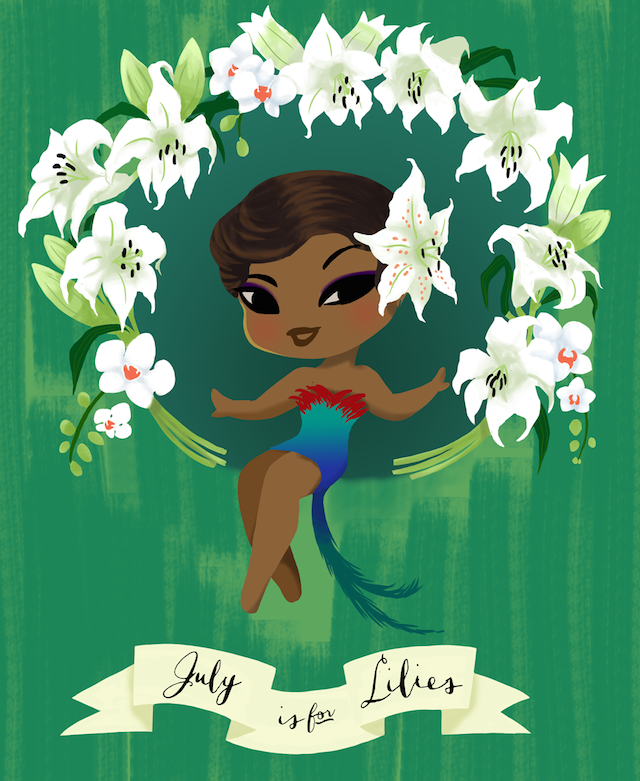 July is for Lilies by Ikupoo