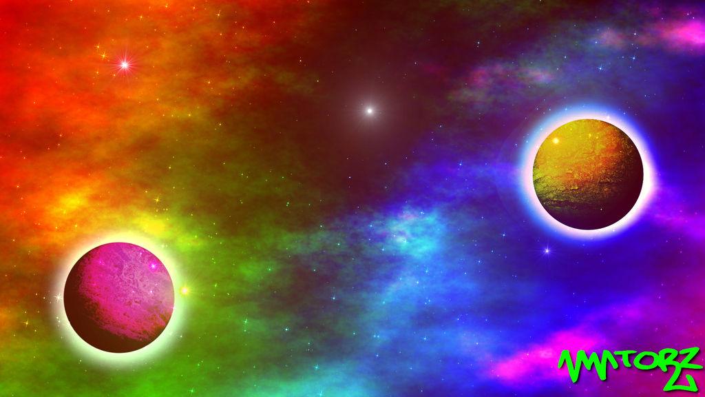 rainbow galaxy wallpaper by mmtorzoriginal dcb91k0