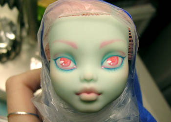 Monster High Custom WIP by blk-kitti