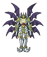 ShadowSeraphimon Sprite by Deluxor23
