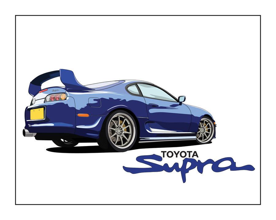 Toyota Supra By Keithsheep On DeviantArt