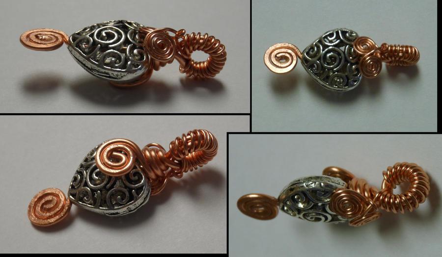 Copper Heart Pendant by Impure-Escape