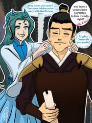 Xuiying and Commander Jing