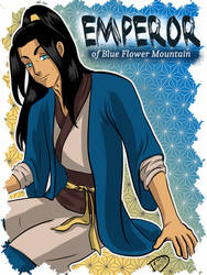 Emperor of Blue Flower Mountain v3 by draw2much