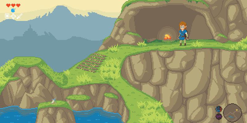The Legend of Zelda: Breath of the Sprites