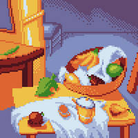 Octobit day 4 - The Kitchen Leaf by Paulo60379