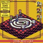Persona 4 P(ixel) - Pixel mockup