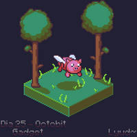 Flying Piggy Bank - Octobit2018 Day 25 - Gadget