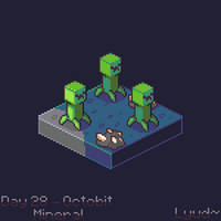 Creepers - Octobit2018 day 28 - Mineral