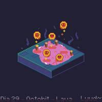 Lava bubble - Octobit2018 Day 29 - Lava