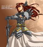 Erza Scarlet Vector
