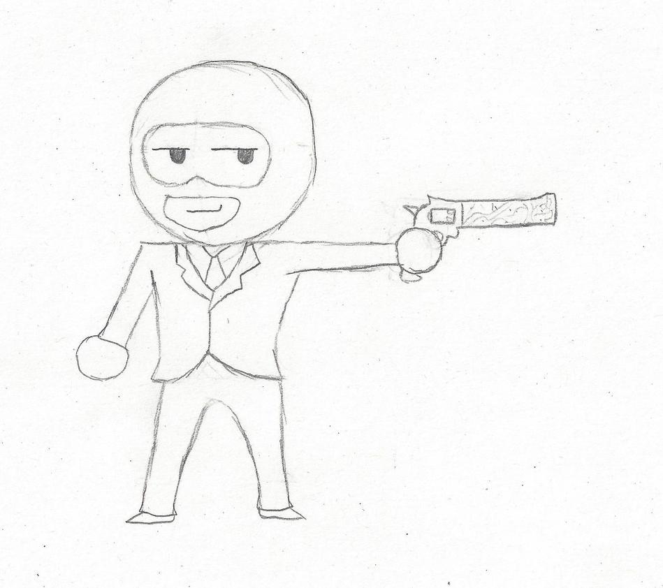 Old Spy Drawing 1 By Cakemanlhk On DeviantArt