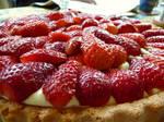 Yummy, strawberry pie