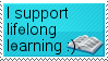 Learning stamp
