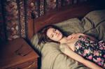 Dasha,portrait in bed_2
