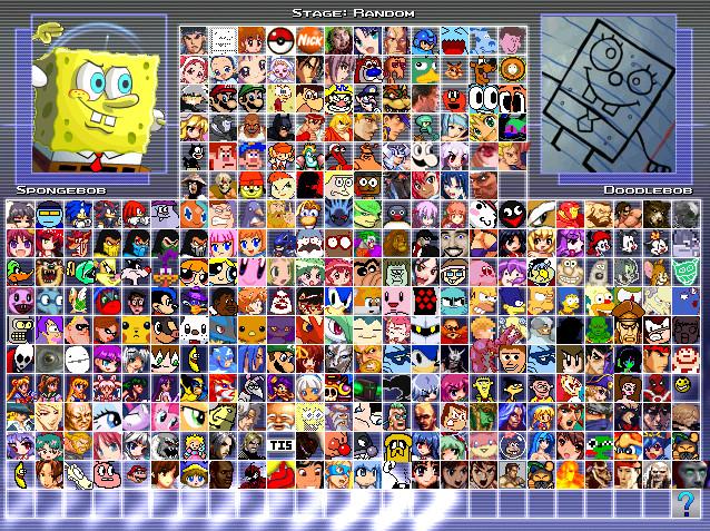 Mugen cartoon characters download