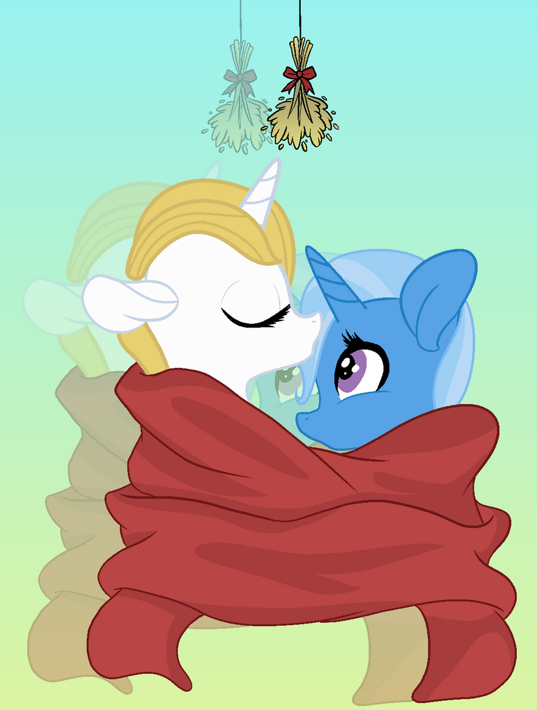 (REQUEST) Trixie And Blueblood by Flower-Daisy-Star