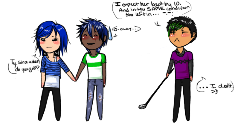 Overprotective Brother Anime Ty the overprotective brother  by destyndOverprotective Brother
