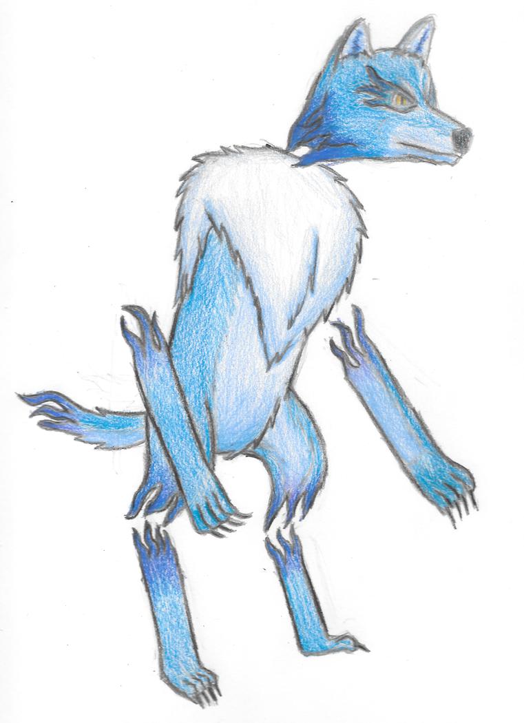 Wolfhelm the Phantom Wolf-man by MSwope