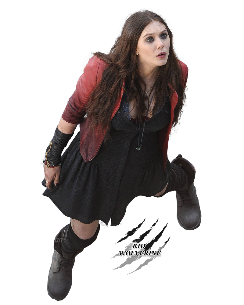 Render elizabeth olsen as scarlet witch by - Scarlet witch boobs ...