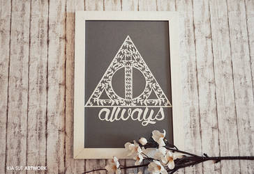 after all this time? always. // hp papercut