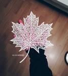 hello autumn papercut #2