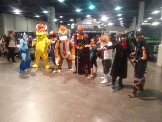 Super Smash Bros Ultimate Level Up Expo Group