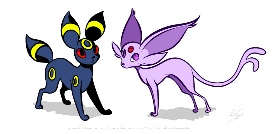 Espeon And Umbreon Love Story | Car Interior Design