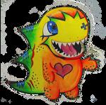 12 Pack Dinosaur by OverTheLazyDog