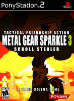 Metal Gear Sparkle 3: Scroll Stealer by TractionEra