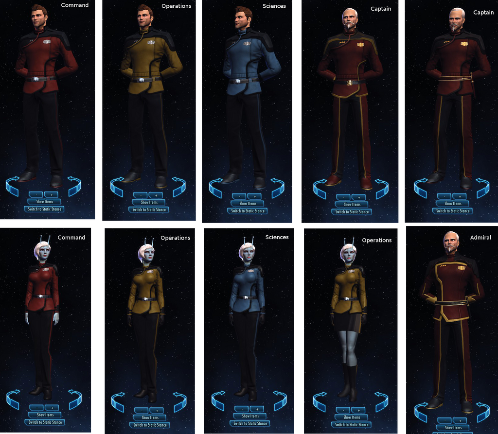 U.S.S Tamriel Starfleet Uniforms by JoeyLock on DeviantArt
