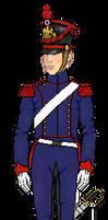 Conducteur du train de l'artillerie