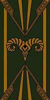 Markarth Banner - Gold/Dwemer