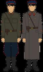 72e18cabf62 SaintYak 119 24 NKVD Internal Troops - Officer - Circa 1941-1943 by JoeyLock