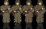 M43 Gimnastyorka - Enlisted - Circa 1943-1945