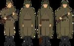 Plash-Palatka - Enlisted - Circa 1941-1945