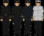 Soviet Red Fleet (RKKF) - Officer/NCOs - 1941-1943