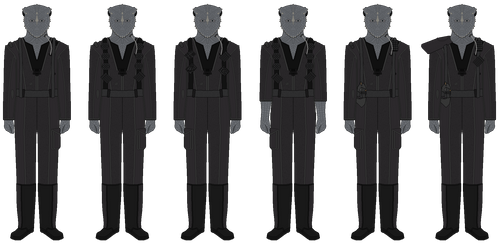 Jem' Hadar Tactical Uniforms - Circa 2373 by JoeyLock