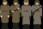 Redux: M43 Gimnastyorka - Circa 1943-1945