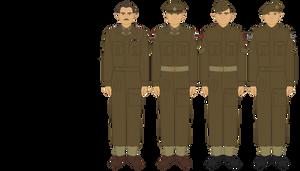 British 1937 Pattern Battle Dress by JoeyLock