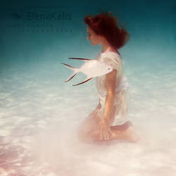 Girl and a fish by SachaKalis