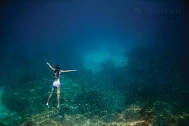 Ocean Blue by SachaKalis