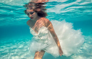 Underwater Bride. by SachaKalis
