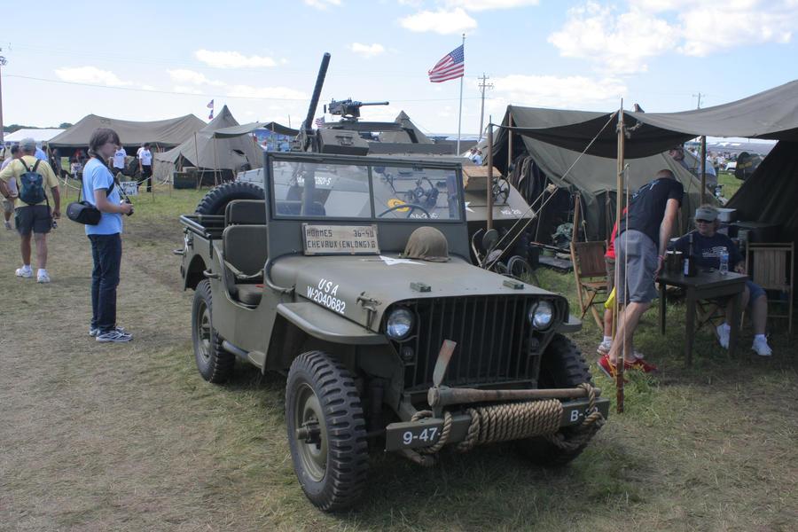 Stock 0117 - US Army Jeep by EverythingIsInStock
