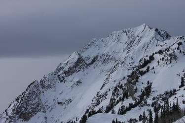 Snowy Mountains by EverythingIsInStock