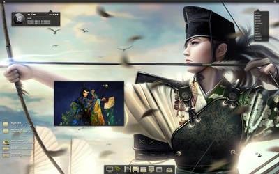 Archer Hirosh Girl by Del11boy