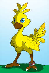Chocobo by ashwolfe