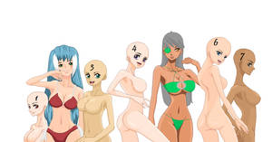 One Piece OC'S Sexy Bathingsuit Collab
